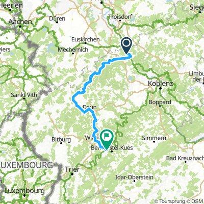 Ahrtour, Remagen-Geolstein- Daun-Lieser