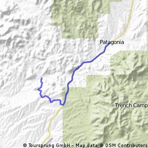 Patagonia Lake to Patagonia