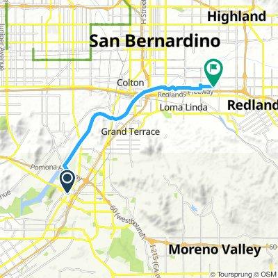 Riverside to Redlands