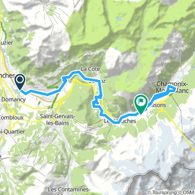 Strive 2019 - Ride 1 - (Short ride) Lake Passy to Chamonix