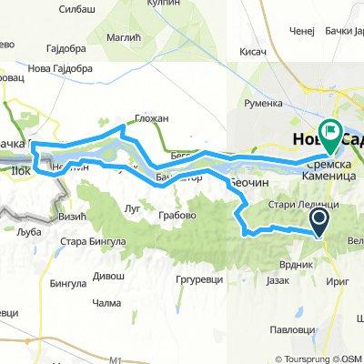 Fruška gora - Ilok - Novi Sad