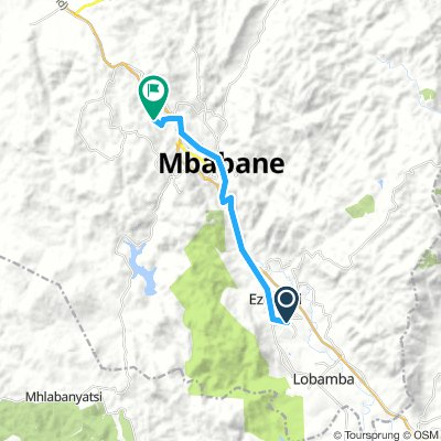 Swaziland Bike Tour - Day 9