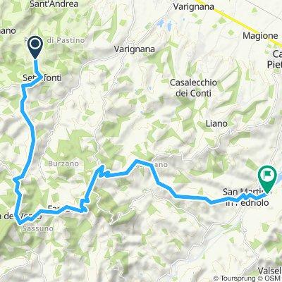 Tappa 10 Settefonti - San Martino in Pedriolo