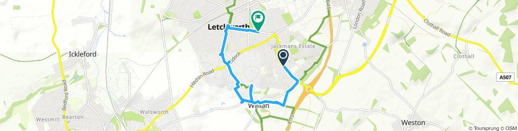 William short route 6.5km