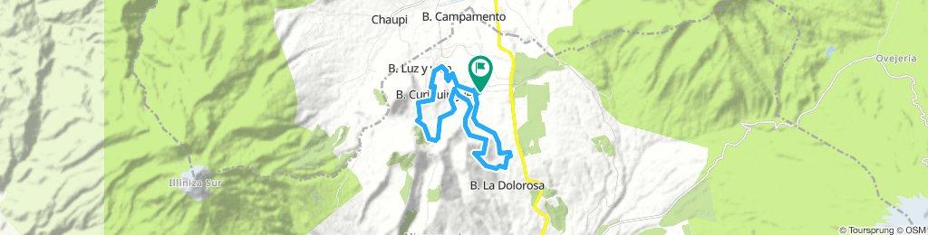 Movistar Tour Montaña Ilinizas 2019 20K