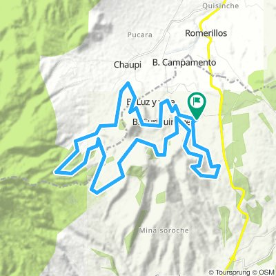 Movistar Tour Montaña Ilinizas 2019 45K