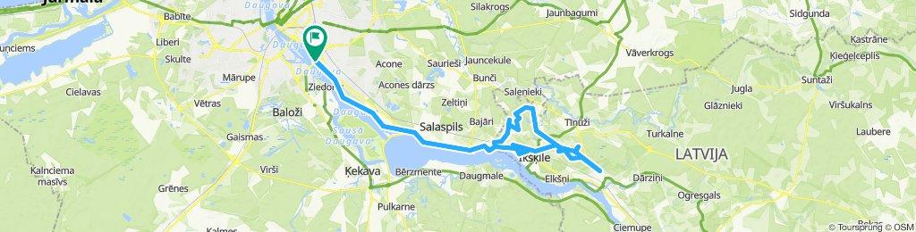 Rīga - OZK - Rīga