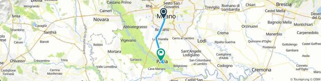 Milano-Pavia