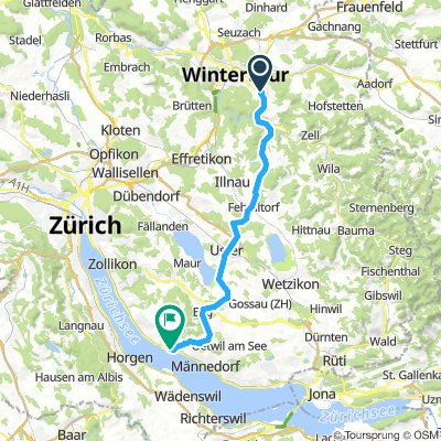 Winterthur to Meilen