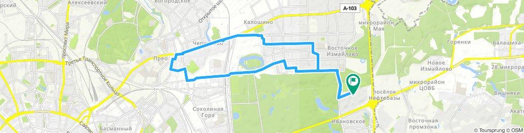 Велокурьерские будни короткие по ВАО 30 04 2019