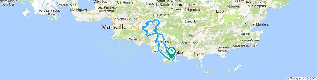 Riboux par la Ste Baume - 1er Mai 19.