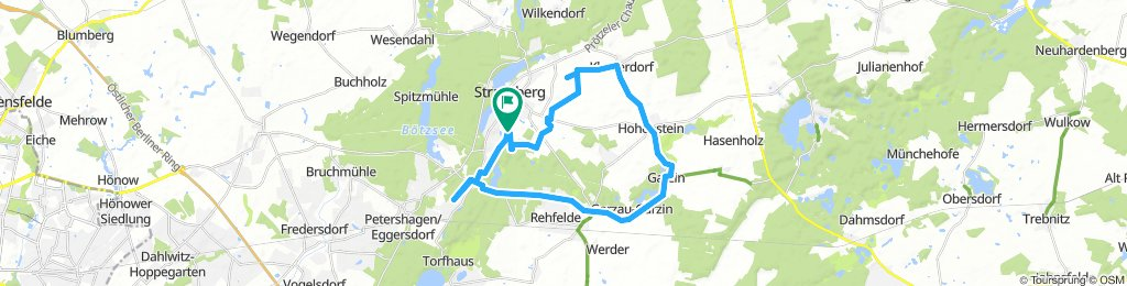 Moderate Route in Strausberg