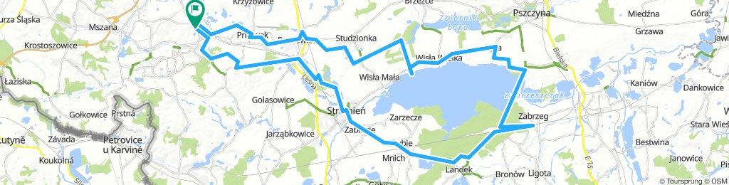 Jezioro Goczałkowickie - Jastrzębie Zdrój