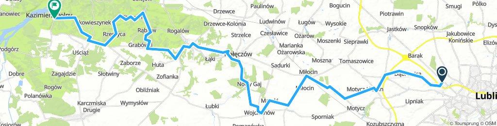 Kazimierz Dolny - Nałęczow - Lublin