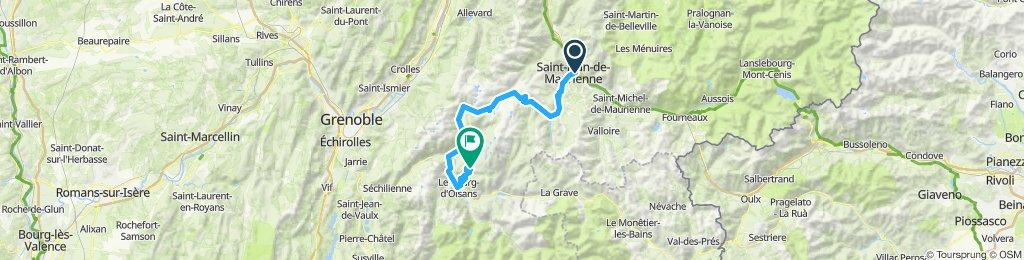 D 2 Saint Jean de Maurienne-Alp d'Huez-Bourg de Oisans's