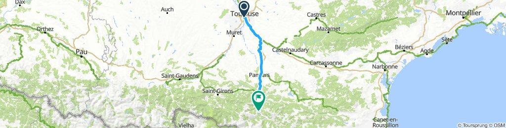 Toulouse - Tarascon-sur-Ariège