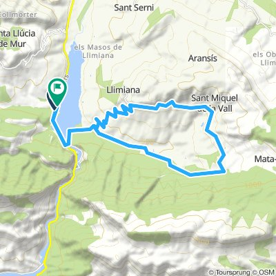 Vall de Barcedana.Footbike.