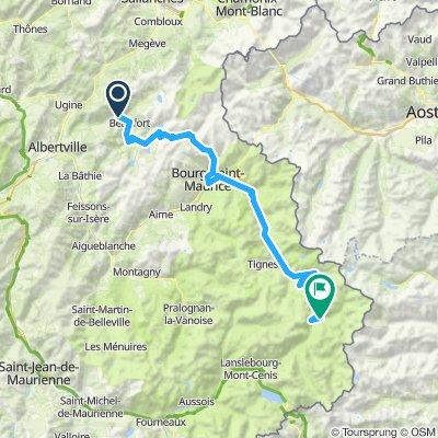Route des Grandes Alpes 2019 Alt. 2.1 - Tag 2