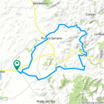 Cycling Routes And Bike Maps In And Around Villamartin Bikemap