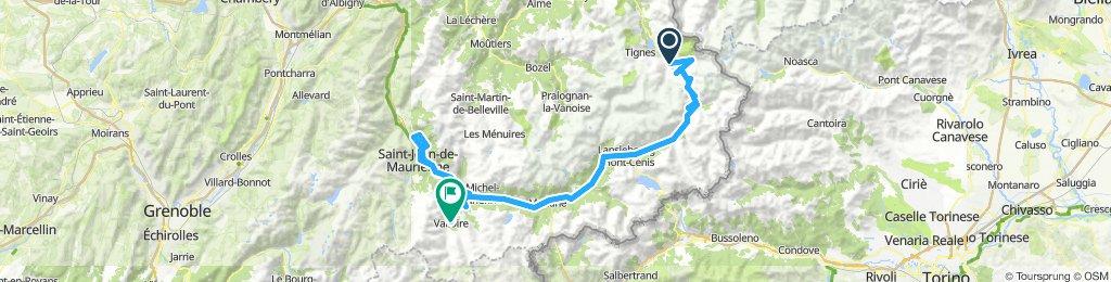 Route des Grandes Alpes 2019 Alt. 2 - Tag 3
