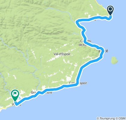 1081502 8of12 QC - 15b Saint-Georges-de-Malbaie, QC  to Pabos, QC (Camping la Seigneurie) 69km