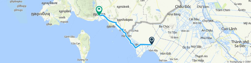 Day 55 - Thuan Tien to Kampot