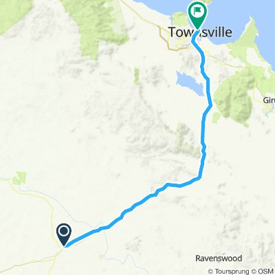 Charters Towers to Townsville