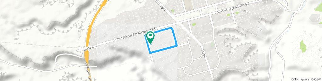 Moderate route in Riyadh