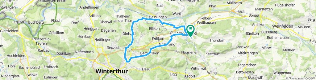 Frauenfeld-Winti-Attikon-Frauenfeld