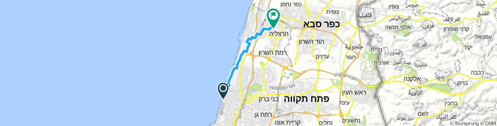 Easy ride in Herzliyya: