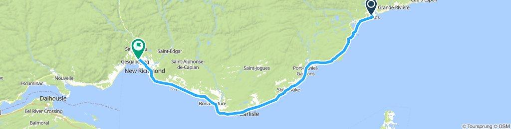 1081602 8of12 QC - 16b Pabos, QC to New Richmond, QC (Camping New-Richmond) 127km