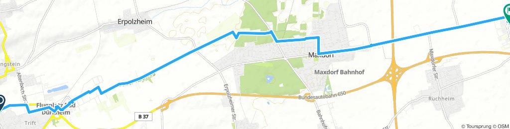 Radweg DÜW nach LU-Oggersheim Kalker