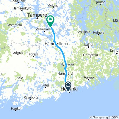 20. nap Helsinki-Tommola