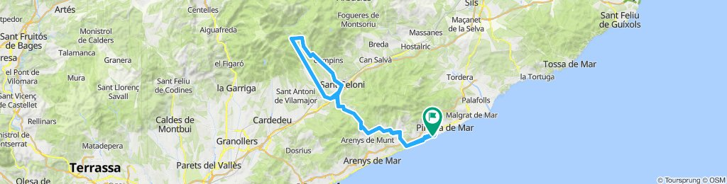 IM Barcelona official route 2019