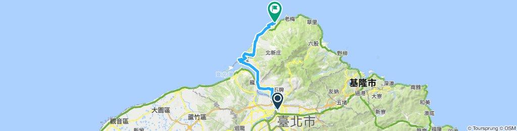 J1 Taipei to Tamsui to Baishawan