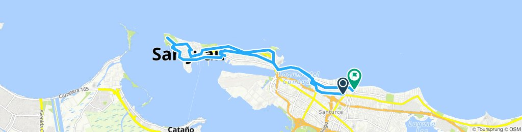 Easy ride in San Juan