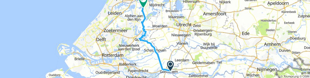 Gorinchem - Gouda - Nieuwkoop