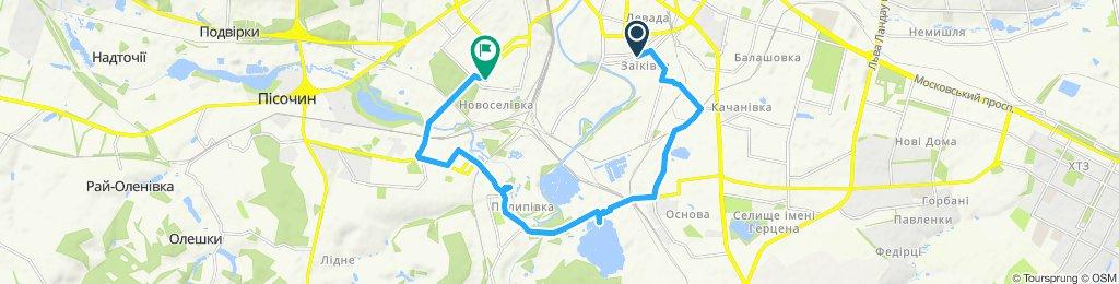 Москалевка-Основа-Григорьевский бор