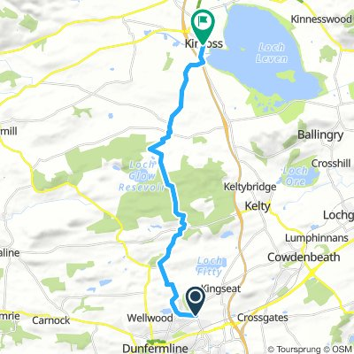Moderate route in Kinross
