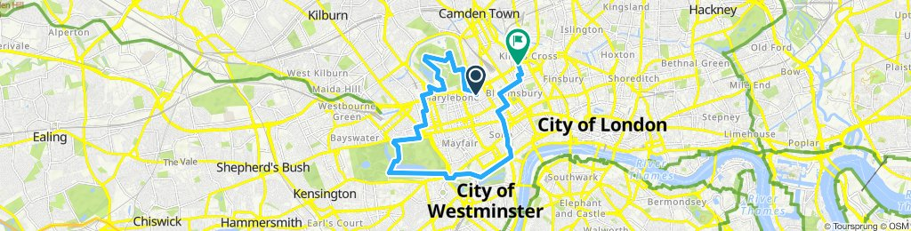 Bxl - Londres J7 : Parcs Regent & Hyde, Relève Garde, St Pancras, Bxl