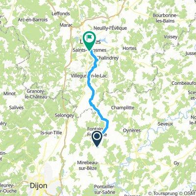 Mirebeau-sur-Bèze Cycling