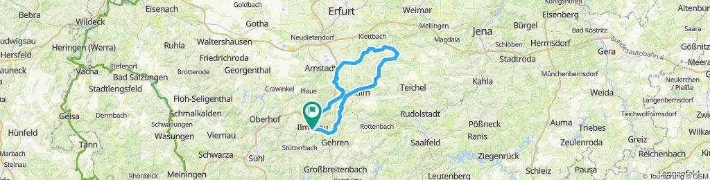 2019-05-01: Ilmenau - Kranichfeld