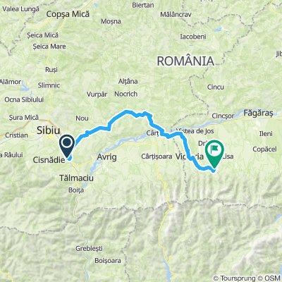 Ziua 1.0 - Valea Hartibaciului spre Sambata de Sus