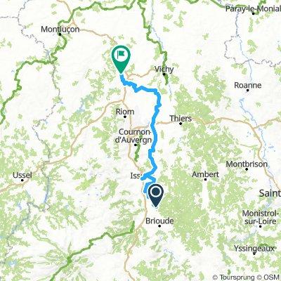 Volcanique: Brassac-les-Mines - Ébreuil