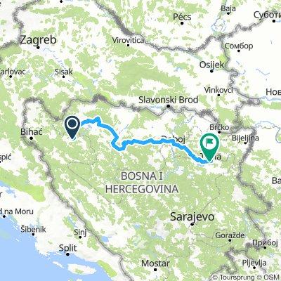 Sanski Most Jasenovac Bikemap Your Bike Routes