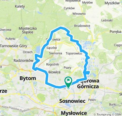 Objazdówka przez Zendek