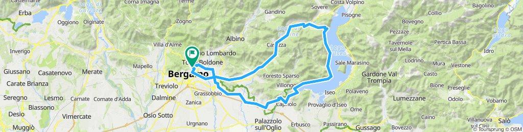 Bergamo-lago D'Iseo
