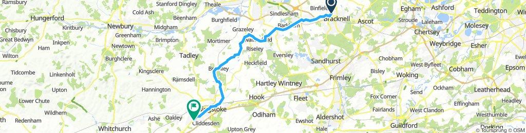 Bracknell - Basingstoke
