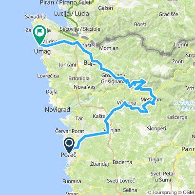 Parenzana - (from Porec to Umag route)