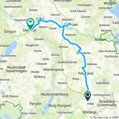 Vorpommersch- Mecklenburgische Kleinstadttour